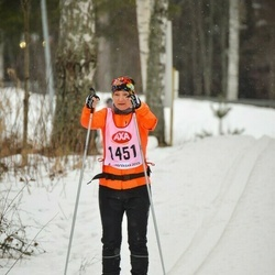 Skiing 45 km - Annica Berzén (1451)