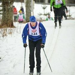 Skiing 45 km - Niels Drent (244)