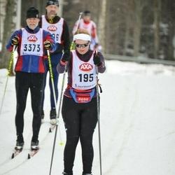 Skiing 45 km - Anna Sigridur Vernhardsdottir (195)