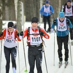 Skiing 45 km - Erik Wagner (1101)
