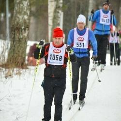 Skiing 45 km - Stefan Larsson (1058)