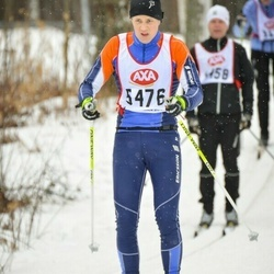 Skiing 45 km - Henrik Litzell (5476)
