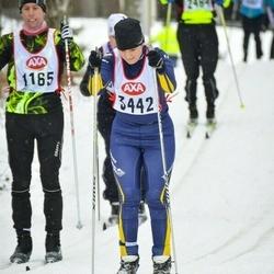 Skiing 45 km - Ann-Margret Tjärnås (3442)
