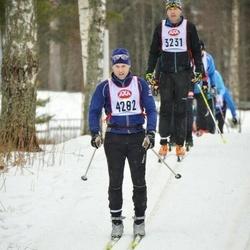 Skiing 45 km - Svante Månsson (4282)