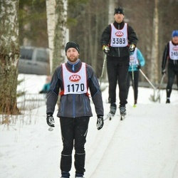Skiing 45 km - Anders Secher (1170)