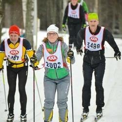 Skiing 45 km - Jessica Larsson (2002)