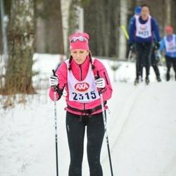 Skiing 45 km - Sofia Sjöholm (2315)