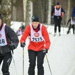 Skiing 45 km - Leif Skogsmark (2573)