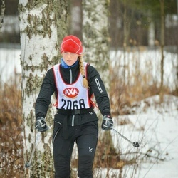 Skiing 45 km - Sabina Fredlund (2068)