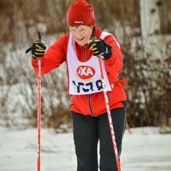 Skiing 45 km - Ulla Svanberg (1578)
