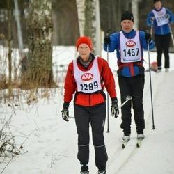 Skiing 45 km - Agnetha Engblom (1289)