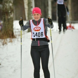 Skiing 45 km - Agneta Lundberg (3408)