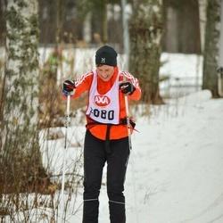Skiing 45 km - Rickard Ahlin (2080)