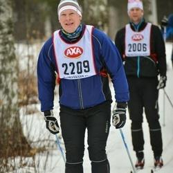 Skiing 45 km - Johan Almqvist (2209)