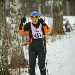 Skiing 45 km - Hanna Fräjdin (437)