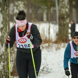 Skiing 45 km - Caroline Lagerblad (2108)