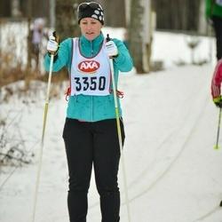 Skiing 45 km - Susanne Sahlgren (3350)