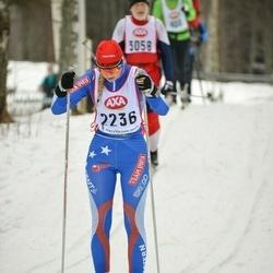 Skiing 45 km - Rebecca Rosberg (2236)