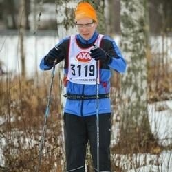 Skiing 45 km - Fredrik Rann (3119)
