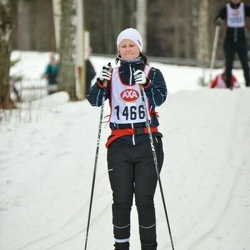 Skiing 45 km - Caroline Gustafsson (1466)