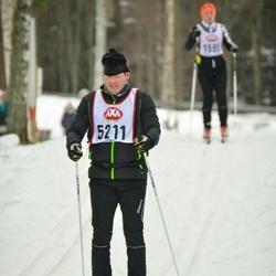 Skiing 45 km - Patrik Råneby (5211)