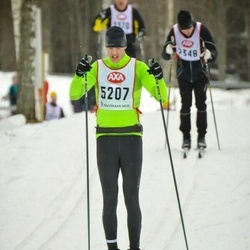 Skiing 45 km - Emanuel Möller (5207)