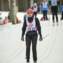 Skiing 45 km - Kristina Holmberg (2316)