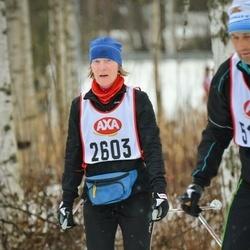 Skiing 45 km - Rose-Marie Lans (2603)