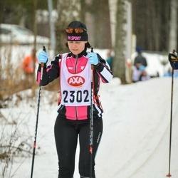 Skiing 45 km - Elisabeth Nilsson (2302)