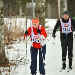 Skiing 45 km - Madelen Straubhaar (1215)