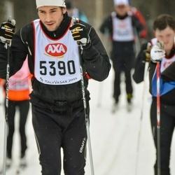 Skiing 45 km - Johann Danielsson (5390)