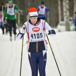 Skiing 45 km - Joakim Ramsell (4105)