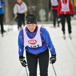 Skiing 45 km - Malin Larsson (2393)