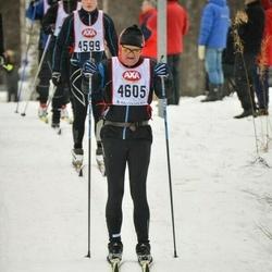 Skiing 45 km - Henry Westman (4605)