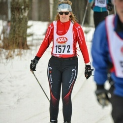 Skiing 45 km - Mona Eklund (1572)