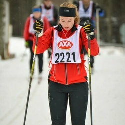 Skiing 45 km - Michaela Persson (2221)