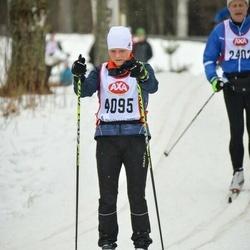 Skiing 45 km - Monica Welin (4095)