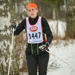 Skiing 45 km - Elina Eriksson (1447)