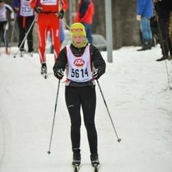Skiing 45 km - Monica Danielsson (5614)