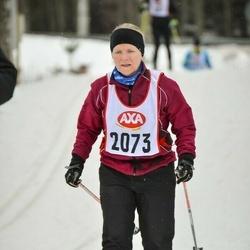 Skiing 45 km - Anette Järvenpää (2073)
