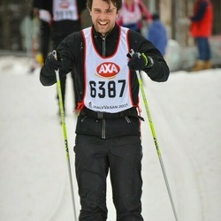 Skiing 45 km - Henrik Nyman (6387)