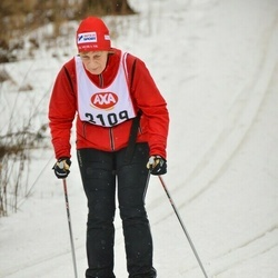 Skiing 45 km - Maj-Britt Flood (2109)