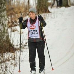Skiing 45 km - Lillemor Wilhelmsson (1535)