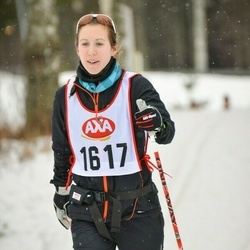 Skiing 45 km - Camilla Cangren (1617)