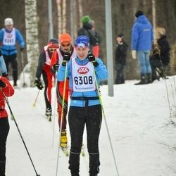 Skiing 45 km - Veronika Norén (6308)