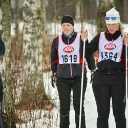 Skiing 45 km - Anna-Karin Carlsson (1618)