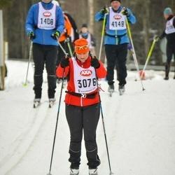 Suusatamine 45 km - Lena Lövqvist (3076)