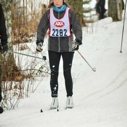 Skiing 45 km - Sara Scott (2282)