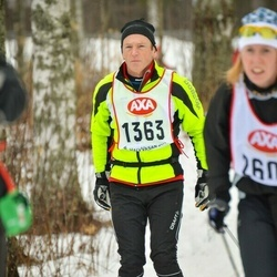 Skiing 45 km - Alan Donald (1363)