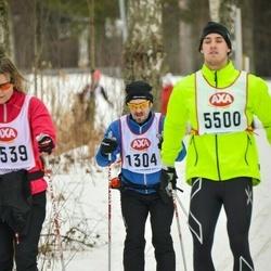 Skiing 45 km - Mats Cangren (1304)